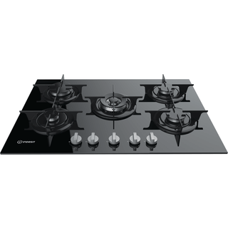 Gas hob: 5 gas burners