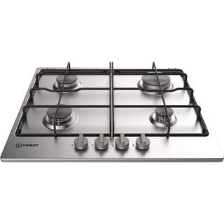 Indesit THA 642 IXI Gas Hob in Stainless Steel