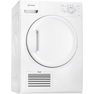 Sèche-linge à condensation Indesit : posable, 8 kg