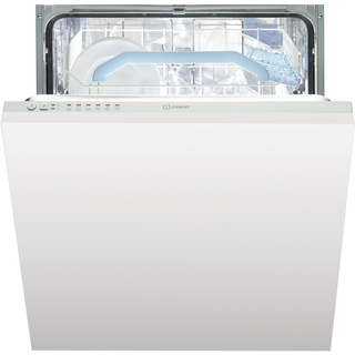 Indesit Fast Eco Cycle DIF 16B1 Integrated Dishwasher in White