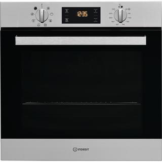 Indesit Aria IFW 6340 IX UK Electric Single Built-in Oven in Stainless Steel