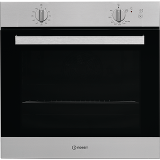 Built in gas oven: inox colour