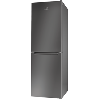 Indesit LD70 N1 X Fridge Freezer in Stainless Steel