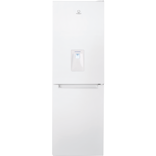 Indesit LD70 N1 W WTD Frost Free Fridge Freezer in White