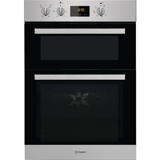 Indesit Aria IDD 6340 IX Electric Double Built-in Oven in Stainless Steel