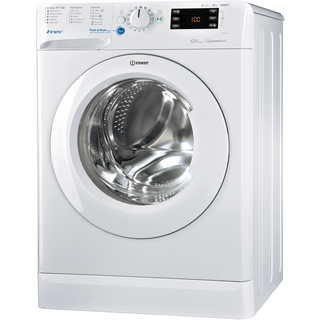 Freestanding front loading washing machine