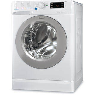 Indesit freestanding front loading washing machine: 9kg