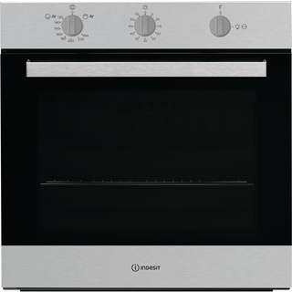 Indesit built in gas oven: inox color