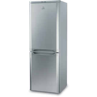 Indesit IBD 5515 S Fridge Freezer in Silver