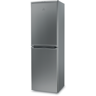 Indesit IBD 5517 S Fridge Freezer in Silver