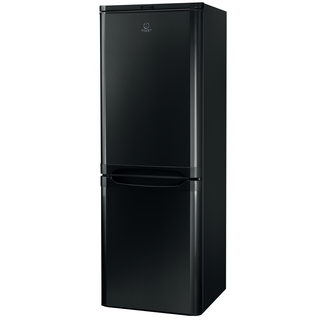 Indesit IBD 5515 B Fridge Freezer in Black
