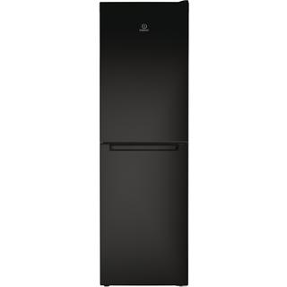 indesit ld85 f1 k 1 fridge freezer in black