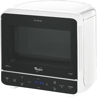 Prostostoječa mikrovalovna pečica MAX 38 WH