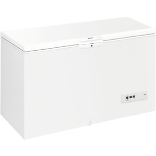 Whirlpool freestanding chest freezer: white color - WHM3911