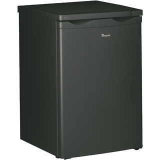Whirlpool freestanding upright freezer: black color - WVT553 BL