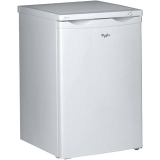 Whirlpool freestanding upright freezer: white color - WVT553 W