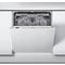 Beépíthető, 14 terítékes, teljesen integrálható mosogatógép (60 cm széles) WEIC 3C26 F