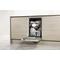 Beépíthető, külső vezérlőpaneles, 10 terítékes keskeny mosogatógép ADG 321 IX