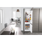 60cm integrated combi fridge and freezer ART 6510/A+ SF
