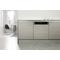 Beépíthető, 14 terítékes, külső vezérlőpaneles mosogatógép (60 cm széles) WBO 3T323 6P X