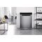 Whirlpool dishwasher: full size, inox color - WFO 3P33 DL X UK