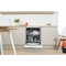 Indesit DFP 27B1 Fastest Eco Dishwasher in White