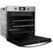 Built in electric oven: inox colour, self cleaning