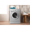 Indesit Ecotime IWDC 6125 S Washer Dryer in Silver