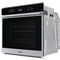 Whirlpool built in electric oven: inox color, self cleaning - W7 OM4 4BPS1 P