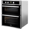 Whirlpool built in double oven: electric - AKL 307 IX