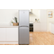 Indesit CAA 55 S Fridge Freezer in Silver