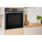 Indesit Aria DFW 5544 C IX UK Electric Single Built-in Oven in Stainless Steel
