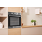 Indesit Aria IFW 6230 IX UK Electric Single Built-in Oven in Stainless Steel