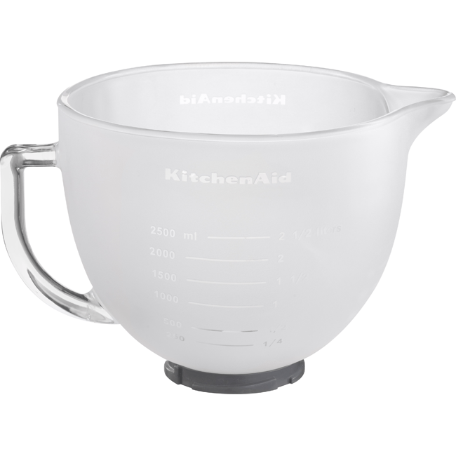 4.8L FROSTED GLASS BOWL FOR TILT HEAD MIXER MODELS